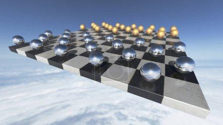 surreal transparent liquid balls