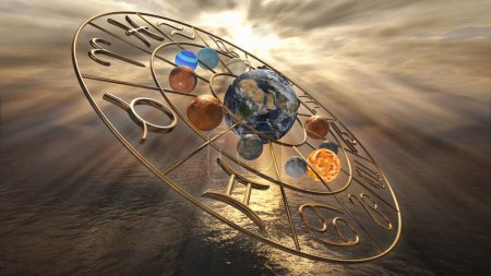 gold zodiac horoscope signs