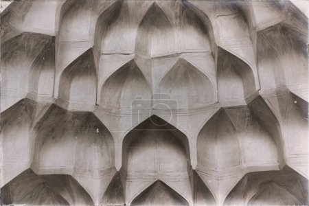 religious architecture of mosque roof, persian history