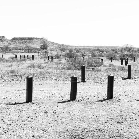 Photo pour En Australie la météorite chute nature sauvage et outback - image libre de droit