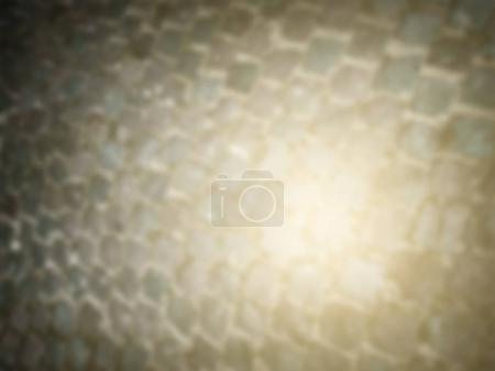 Abstract blurry background with stone pavement