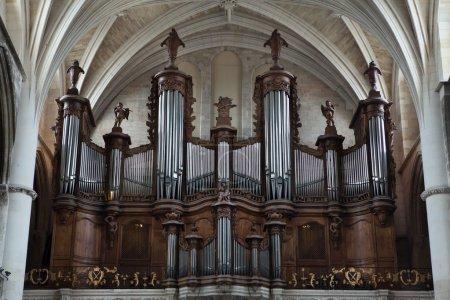 Foto de Órgano en la Catedral de Burdeos en Burdeos, Aquitania, Francia - Imagen libre de derechos