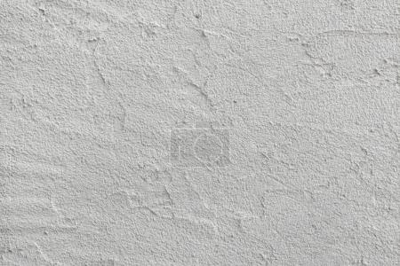 White painted stucco wall