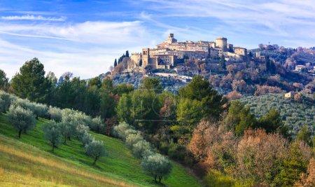 Beautiful Gualdo Cattaneo village,Umbria,Italy....