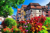 Most beautiful colorful towns - Colmar in Alsace, France