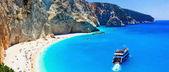 Porto Katsiki  - one of the most beautiful beaches of Greece, Lefkada.