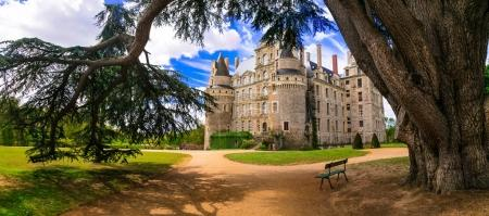 One of the most beautiful and mysterious castles of France - Chateau de Brissac.