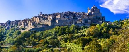 Traditional medieval hilltop villages of Italy- Grotte di Castro