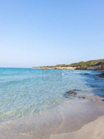 Beautiful beach in salento