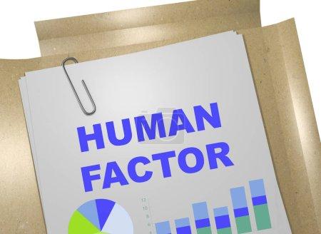 Faktor Mensch - Geschäftskonzept