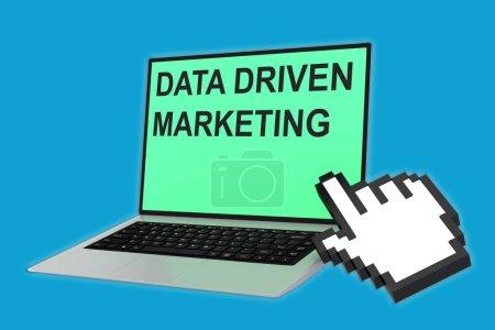 Data-Driven Marketing concept