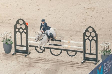 Olivia Ytterell at the Prince Carl Philip prize event in ponny j