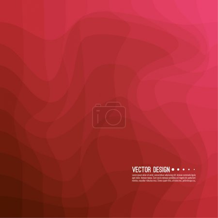 Ilustración de Textura colorida de una onda distorsionada. Resumen superficie ondulada dinámica. Fondo de vector raya deformación - Imagen libre de derechos