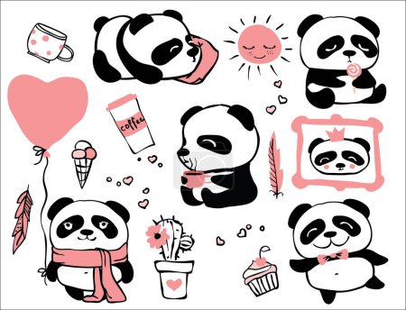 pandas seamless pattern