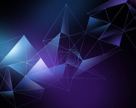 abstract vivid geometrical  background