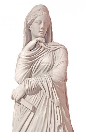 ancient bust, scupture