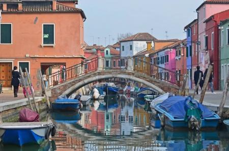 Bridge over a canal