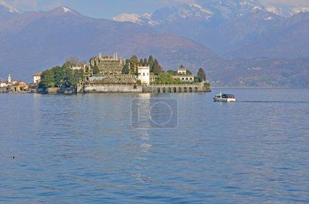 The beautiful island of Isola Bella