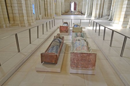 The tombs of King Henry II, Richard the Lionheart ...