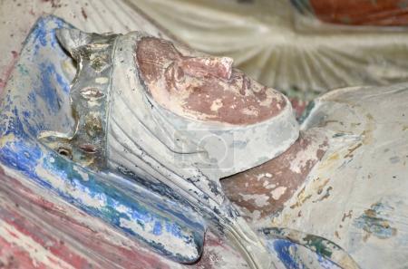 The tomb of Eleanor of Aquitaine