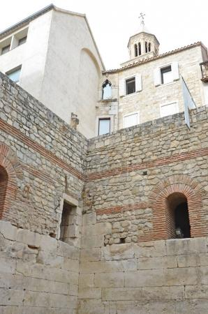 Two floors of Diocletian's Palace