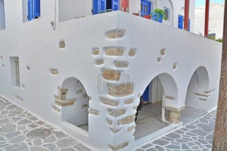 Street corner in a quiet Greek village