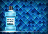 Mouth Rinse Design Cosmetics Product  Template for Ads or Magazi