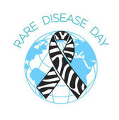 Rare Disease Day linear style