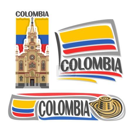 Vector logo Colombia