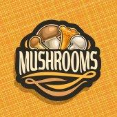 Vector logo for Mushrooms