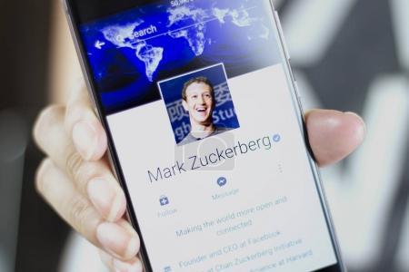 Марк Цукерберг является основателем