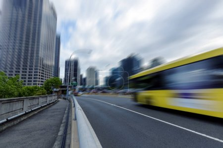 Photo for Urban traffic road, city - Royalty Free Image