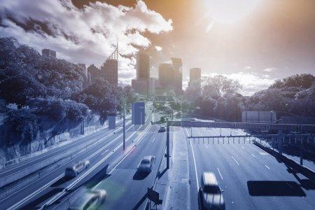 Photo pour Sydney Transport urbain, urbain, voyage - image libre de droit