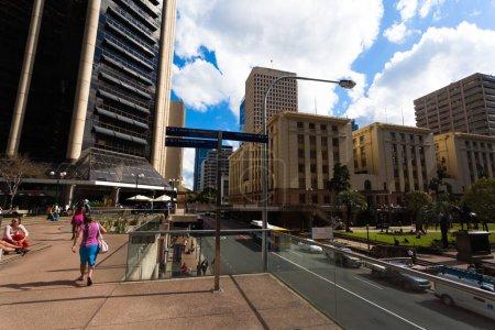 Photo pour Centre-ville de Brisbane, Australie, ville, voyage - image libre de droit