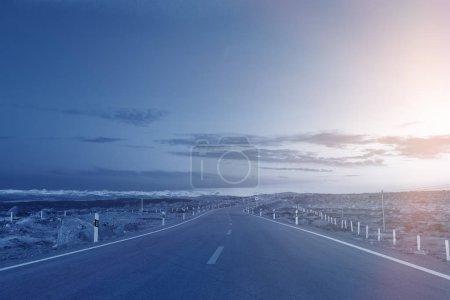Photo pour Highlands autoroute, route, voyage - image libre de droit