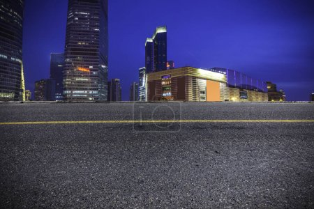 Photo for China Shanghai City Background - Royalty Free Image
