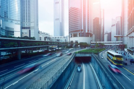Photo for Traffic to the city road, urban, travel - Royalty Free Image