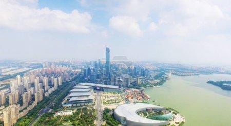 Photo for China New District of Suzhou Jinji Lake - Royalty Free Image