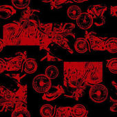 Old motorcycle patternI made a pattern with an old motorcycle