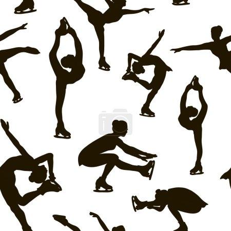 Figure skating set pattern