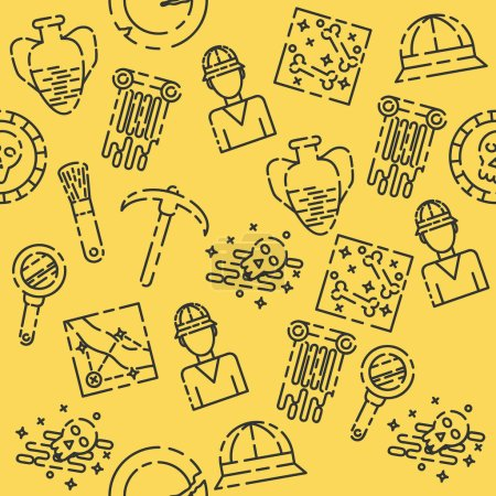 Archeology flat pattern