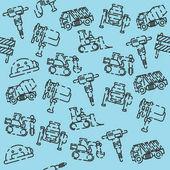 Construction machinery pattern