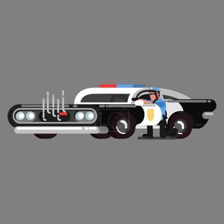 Police sketch officer