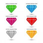 Precious crystal diamonds