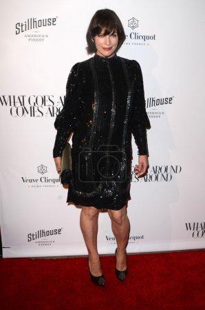 Actress Milla Jovovich