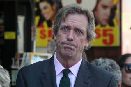 actor Hugh Laurie