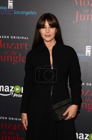 Photo for Actress Monica Bellucci at Mozart In Jungle Special Screening and Concert, The Grove, Los Angeles, CA, 12-01-16 - Royalty Free Image