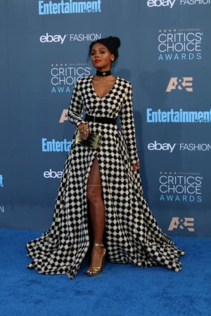 Photo for Singer Janelle Monae at the 22nd Annual Critics Choice Awards, Barker Hanger, Santa Monica, CA 12-11-16 - Royalty Free Image