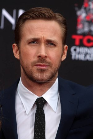 Photo for Actor Ryan Gosling at the Emma Stone and Ryan Gosling Hand and Foot Print Ceremony, TCL Chinese Theater, Hollywood, CA 12-07-16 - Royalty Free Image