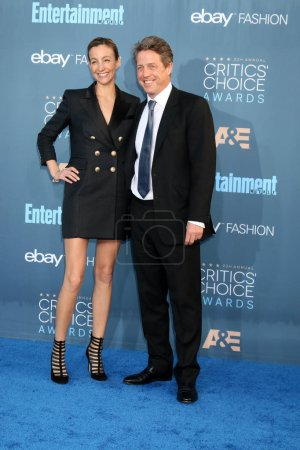 Photo for Anna Elisabet Eberstein with Hugh Grantat the 22nd Annual Critics Choice Awards, Barker Hanger, Santa Monica, CA 12-11-16 - Royalty Free Image